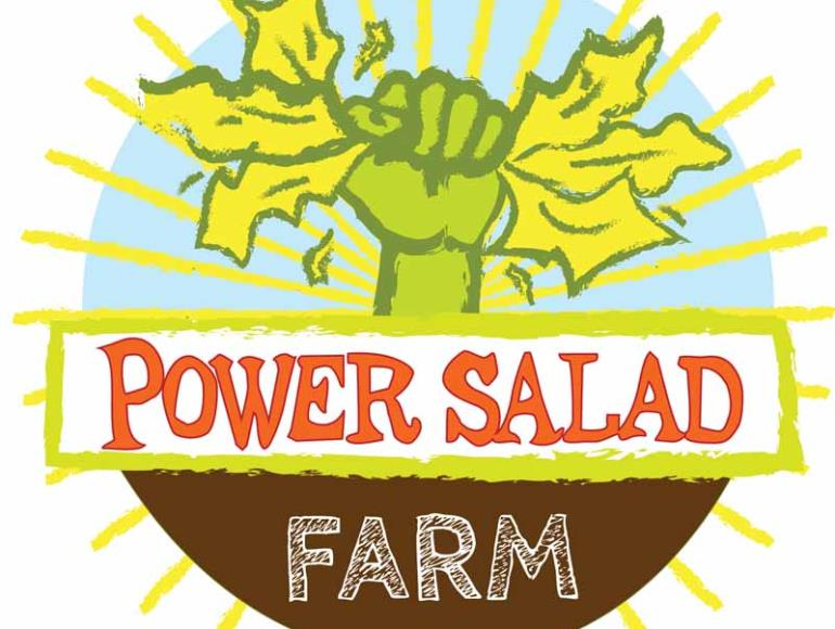 PowerSalad.Farm Camping